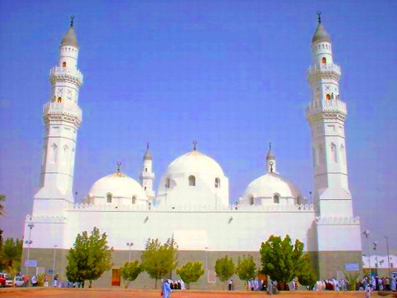 91 Foto Gambar Masjid Qiblatain Terlihat Keren